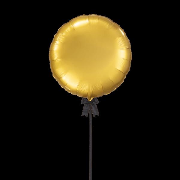 בלון הליום ענק צלחת זהב