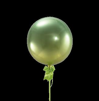 בלון ירוק וצהוב