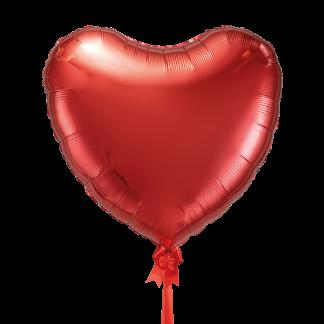 בלון לב אדום ענק