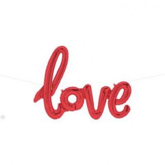 בלון אותיות אהבה love