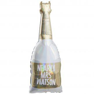 בלון שמפנייה עם מיתוג אישי