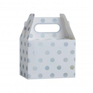 קופסאות עם נקודות כסף