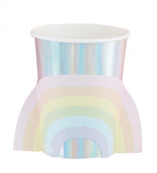 כוסות קשת בענן פאסטל