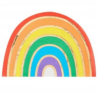 מפיות קשת צבעונית