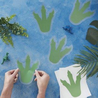 טביעות רגליים דינוזאור