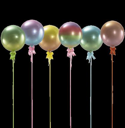 בלונים צבעוניים