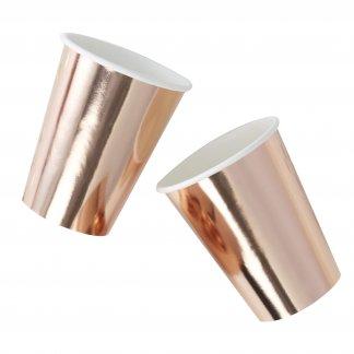 כוסות רוז גולד