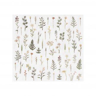 מפיות קוקטייל פרחים בוטני