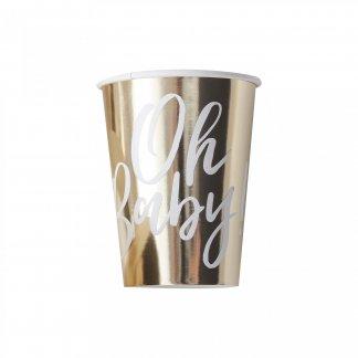 כוסות בייבי זהב