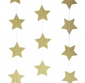 שרשרת כוכבים זהב